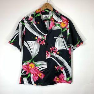 Hilo Hattie Shirts - Hilo Hattie Tropical Hawaiin Camp Shirt Sz Large